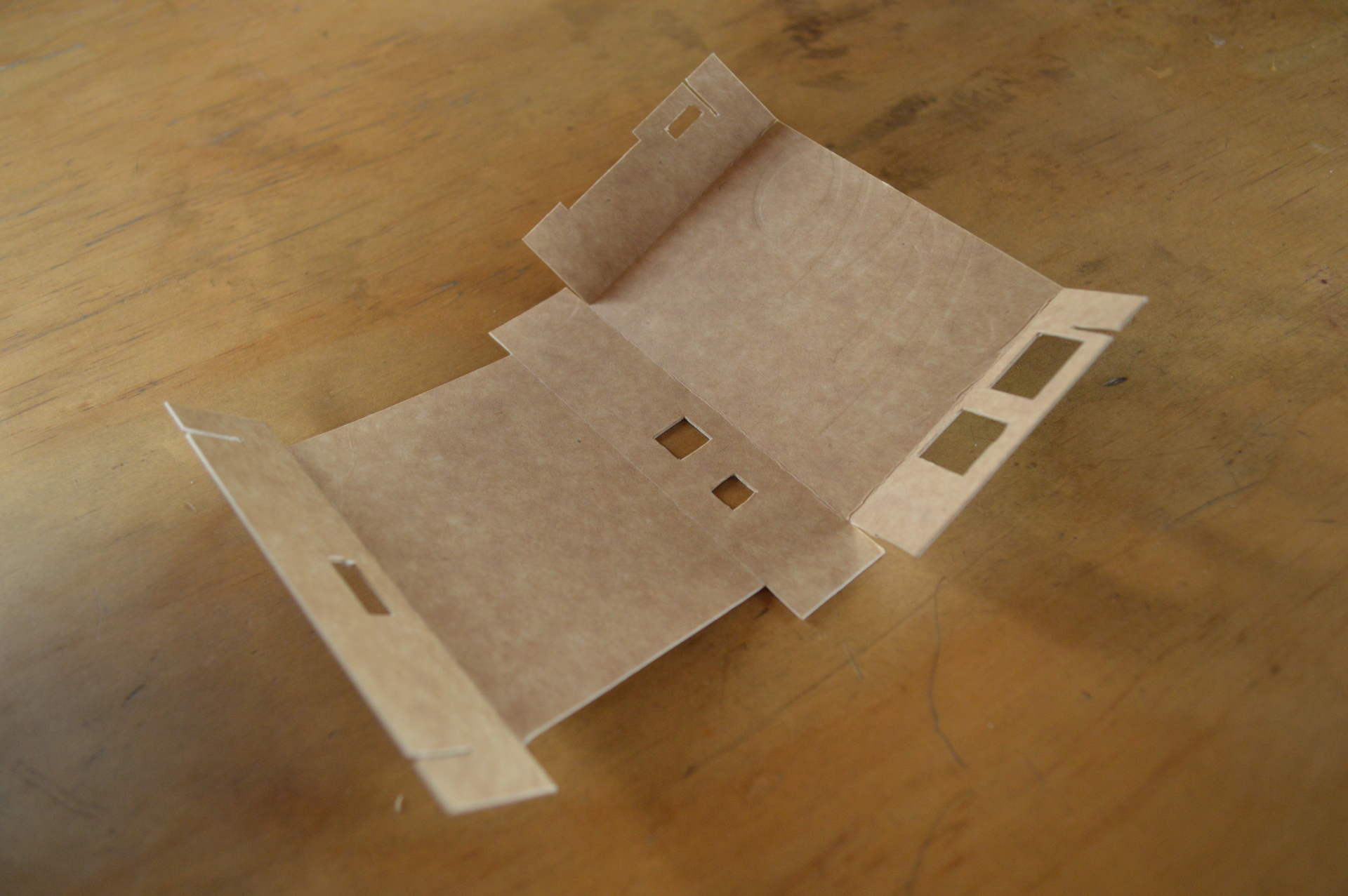 Image of the unfolded box